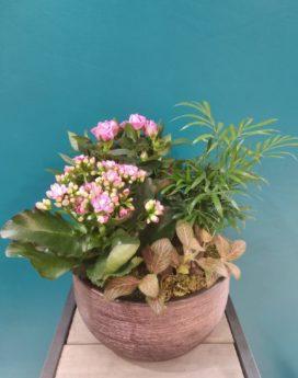 au-paradis-des-fleurs-fleuriste-neuville-sur-saone-mariage composition plantes