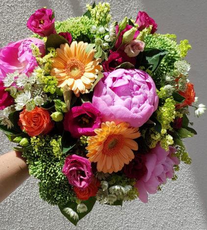 Ambiance Fleuriste Neuville sur Saône Fleurs mariage Lyon Livraison Cours art floral deuil Livraison express Fleuriste interflora