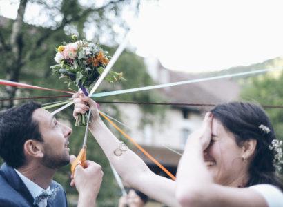Au paradis des fleurs Mariage Lucile et Clément