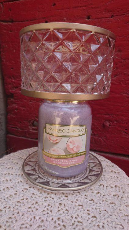Chapeau et Plateau Yankee Candle