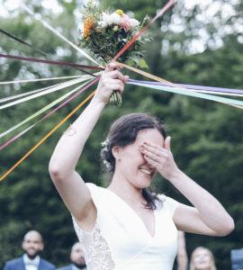 bouquet de mariée mariage lyon neuville sur saone