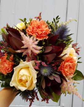 au-paradis-des-fleurs-fleuriste-neuville-sur-saone-mariage bouquet eternite