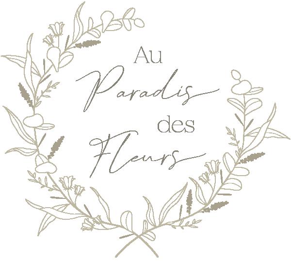 logo au paradis des fleurs branches