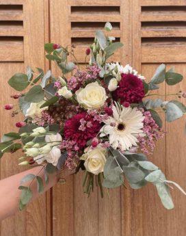 bouquet yvette fleuriste lyon neuville sur saone mariage