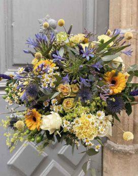 bouquet therese fleuriste lyon neuville sur saone mariage