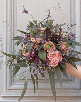 bouquet lisette fleuriste lyon neuville sur saone mariage