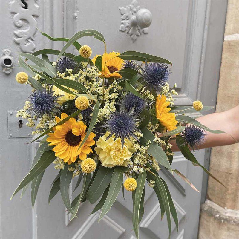 bouquet bernadette fleuriste lyon neuville sur saone mariage