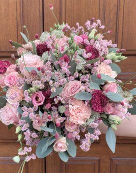 bouquet suzette fleuriste lyon neuville sur saone mariage